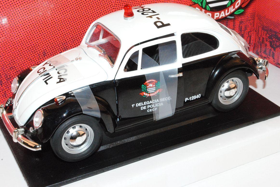 VW Volkswagen Käfer 1967 Polizei Polizei Polizei Sao Paulo Brasilien 1 18 Grünlight Modell Au..  | Sonderkauf  408a56