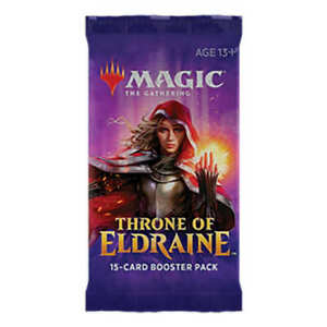 MAGIC-THE-GATHERING-THRONE-OF-ELDRAINE-ENGLISH-BOOSTER-PACK-SEALED-PRE-ORDER