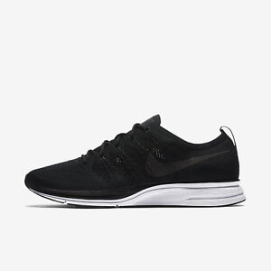 e0dfa60369c8a Image is loading Nike-Flyknit-Trainer-Mens-Black-White-Running-Training-