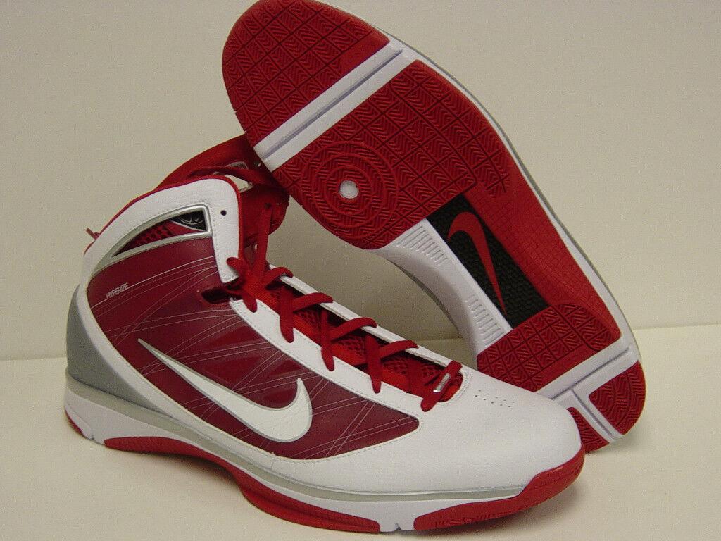 Nuova Uomo Uomo Nuova sz 17,5 nike hyperize tbc 367181 112 basket scarpe scarpe bianco rosso a9239f