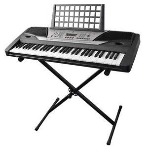 Piano-Keyboard-034-X-034-Stand-Electric-Organ-Rack-Folding-Metal-Height-Adjustable