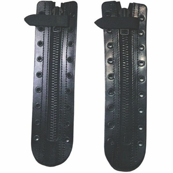 Triple K leather 10 Hole boot zip with YK zipper