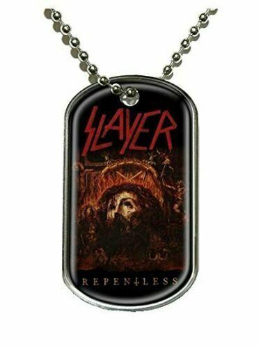 Navidad//Navidad Nuevo Official Band Merchandise Slayer repentless Metal Dog Tag