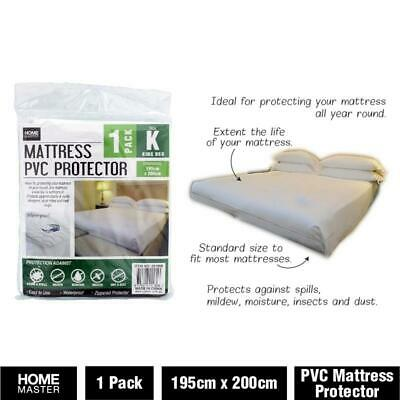 King Size Bed Pvc Plastic Fitted, Queen Size Bed Plastic Cover