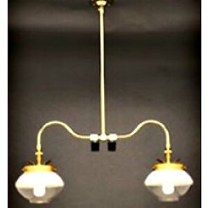 Details About Falks 2707 Double Ceiling Propane Gas Indoor Light New