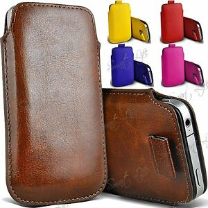 Pull-Tab-PU-Leather-Pouch-Cover-Case-Sleeve-For-Apple-iPhone-Samsung-Nokia-Acer