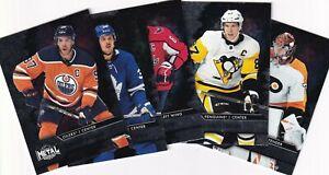 2020-21 UD NHL SKYBOX METAL UNIVERSE BASE 1-100 ** YOU PICK / YOU CHOOSE **