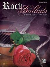 Rock Ballads, Vol 1: Guitar TAB (Guitar Tab Edition), Staff, Alfred Publishing,