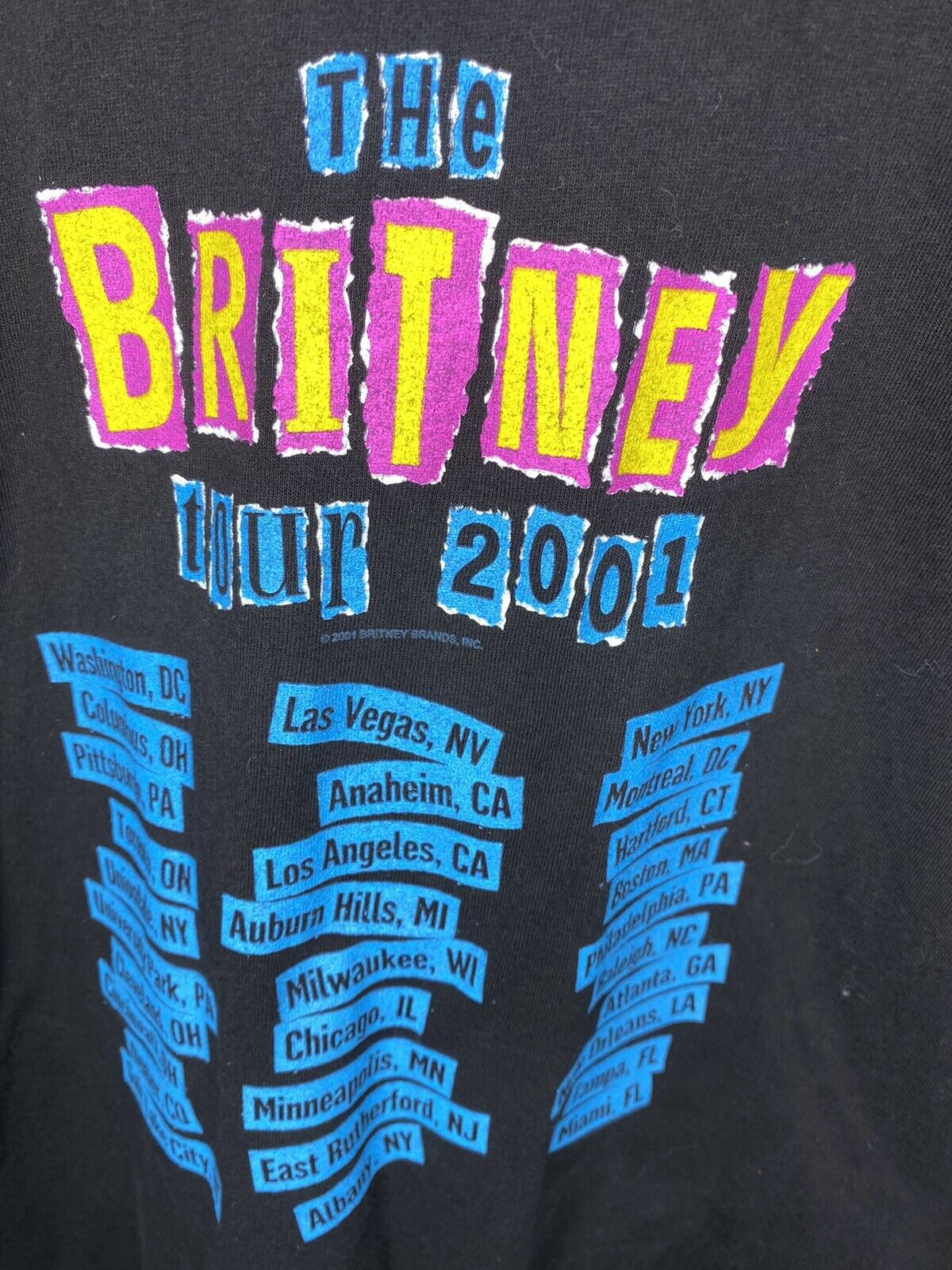 Vintage Britney Spears T Shirt 2001 The Britney T… - image 4