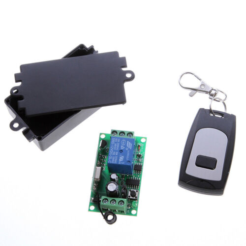 DC12V 50M One Way 1 Channel Relay Switch Module Receiver+Wireless Remote Control