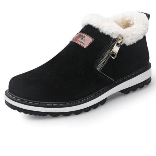 Nuevo Estilo Mejores Botines Zapatos Casual Hombre Cálido Invierno Zapato Botas 4Zc0vOY