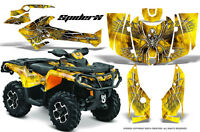 Can-am Outlander 800 1000 R Xt 12-16 Graphics Kit Creatorx Decals Stickers Sxy