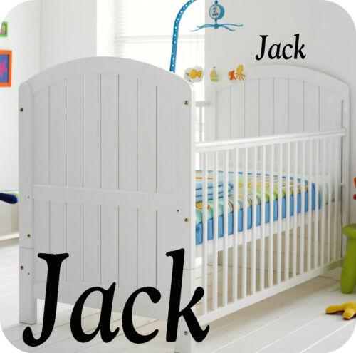 BOY KIDS BABY BOYS PERSONALISED NURSERY ROOM  WALL STICKER BEDROOM OR COT