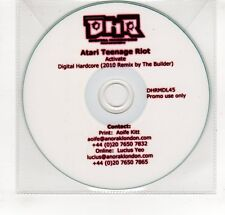 (GP394) Atari Teenage Riot, Activate - 2010 DJ CD