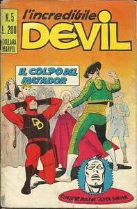 L'Incredibile DEVIL n° 5 (Corno, 1970) - Italia - L'Incredibile DEVIL n° 5 (Corno, 1970) - Italia