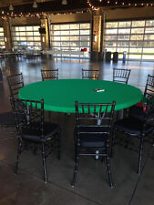 """Poker Felt style table cover in Speed Cloth for 72"""" round - w/ pad and bag"""