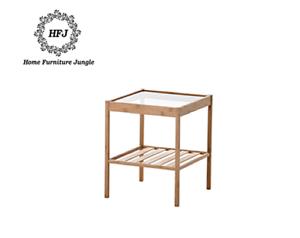 élégant qualité Nouveau afficher prix de étagère meubles Table en Détails sur home titre chevet d'origine verre bon le haut et WIE29YDH