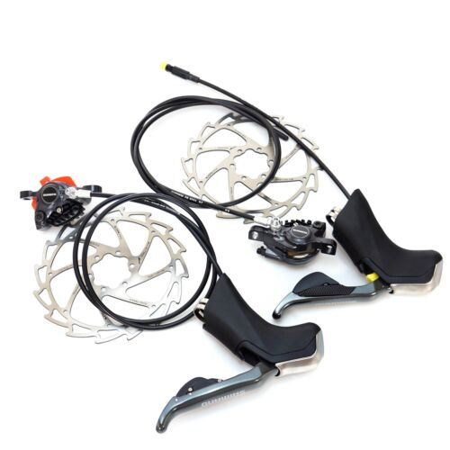 Shimano Di2 ST-R785 BR-R785 Electronic 2x11S Shifters /& Hydraulic Disc Brakes