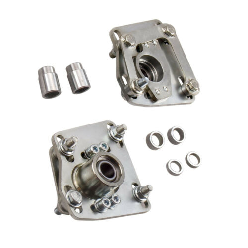 New Front Camber Caster Plate Kit Coilover Mount Adjustable for Mustang 94-04