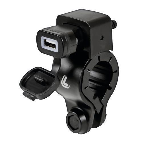 Presa Usb Moto 12//24V fissaggio a manubrio e connettori a forcella Fast Charge