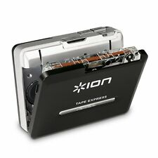 ION Tape Express Plus | Cassette Player and Tape-to-Digital Converter with USB &