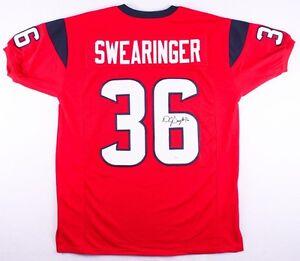 D. J. Swearinger Signed Houston Texans Jersey (JSA COA) 2013 2nd ...