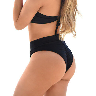 high waist briefs Cheeky bikini