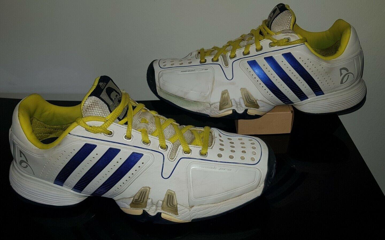 intelectual lección cien  adidas Novak Pro Djokovic Navy Silver Adiprene Mens Tennis Shoes SNEAKERS  AQ2291 for sale online   eBay