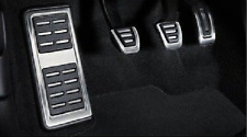 Genuine Audi a4 & a5 b9 Alluminio Pedale Coperture + pedana per RHD & Manuale