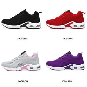 Women-Lightweight-Air-Cushion-Sports-Shoes-Mesh-Athletic-Tennis-Running-Sneakers