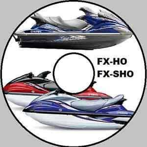 yamaha wave runner fx ho cruiser fx sho service repair manual cd ebay rh ebay com au 2013 yamaha fx ho service manual 2015 yamaha fx sho owner manual