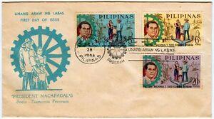 Philippine-1962-Pres-DIOSDADO-MACAPAGAL-Socio-Economic-Program-FDC