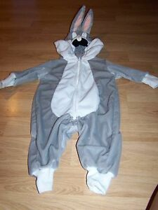 Details About Size 18 24 Months Warner Bros. Studio Store Bugs Bunny  Halloween Costume EUC