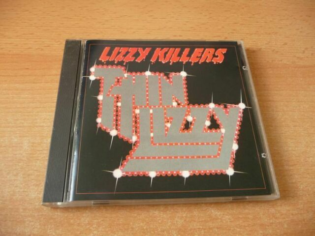 CD Thin Lizzy - Lizzy Killers - 1981 - 11 Songs Phil Lynott - Blue Swirl Edition
