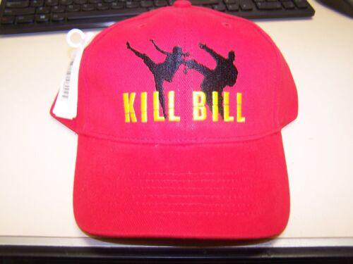 MIRAMAX KILL BILL red baseball cap