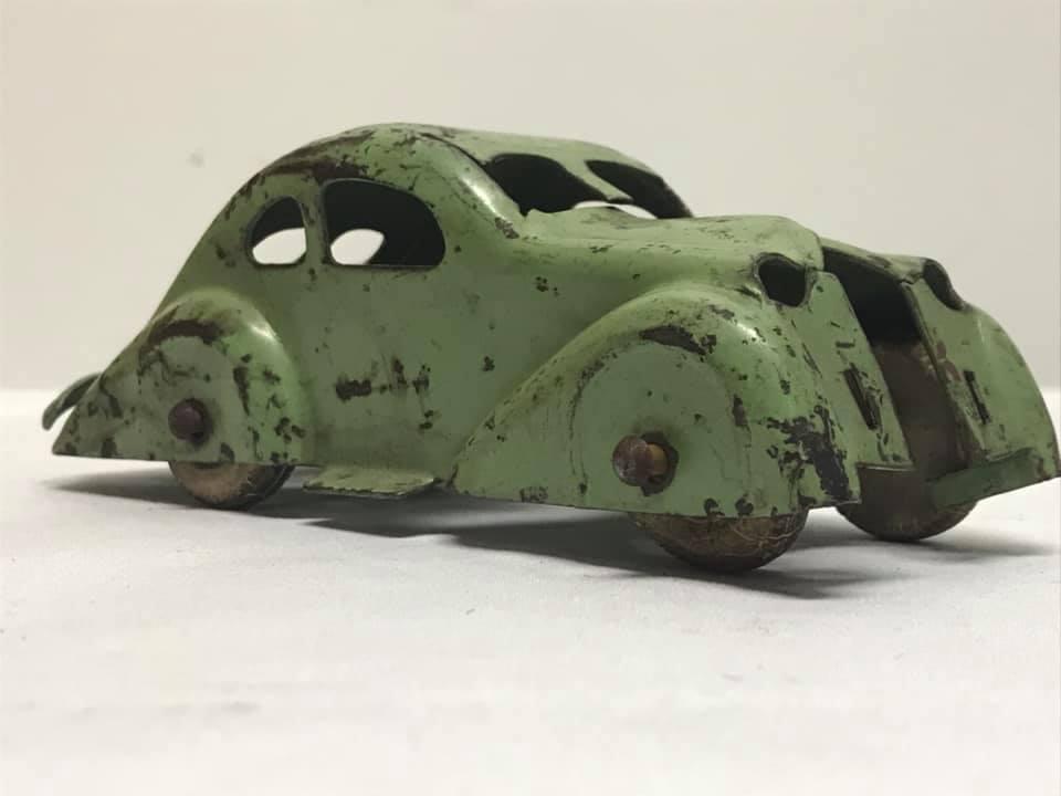 Antique Wyandotte Pressed Steel Car