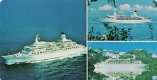 RPC Princess Cruises original love boat postcard oversized