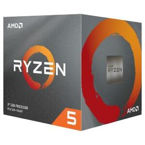 AMD Ryzen 5 3600X Socket AMD4 3.8GHz Desktop Processor (100-100000031)