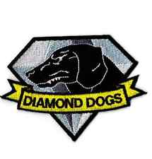 Diamond Dogs Patch Hook and Loop Metal Gear Solid Cosplay for Big Boss Snake