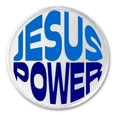 "Property of Jesus 4/"" W x 1.5/"" T Iron//Sew On Religious Decorative Gear Patch"