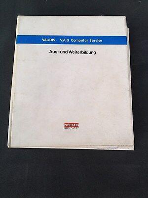 Cartella/siemens Nixdorf Computer Service Vaudi V.a.g Vw Audi Da-formazione-