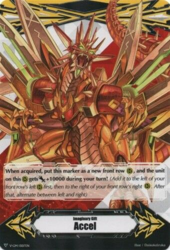 Accel English-Imaginary Gift CFV-1x-Near Mint - V Ravenous Dragon, Gigarex