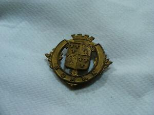 Ancien Blason De Ville Armoiries Somme Écusson Plaque En Laiton 3,2 X 2,7cm 3tgydhkl-10105216-846355068