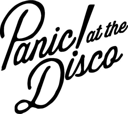 Panic at the disco Decal Sticker Free Shipping