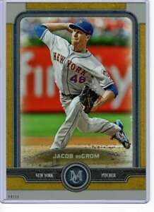 Jacob-deGrom-2019-Topps-Museum-5x7-Gold-54-10-Mets