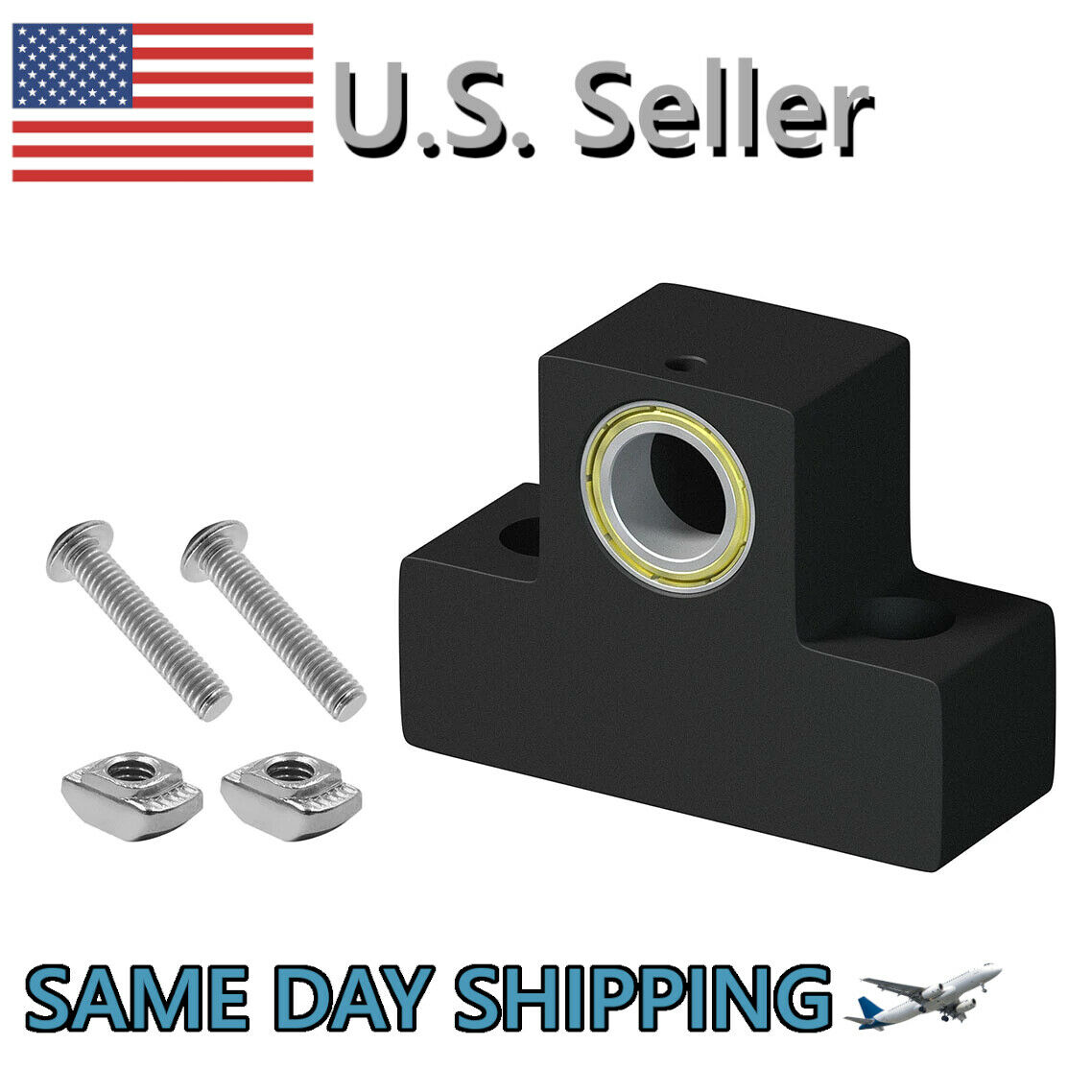 Z-Axis Lead Screw Top Mount Metal Z-Rod Bearing Housing For CR-10 Ender 3 Pro
