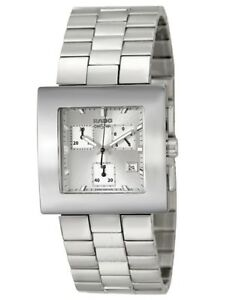 Rado Diastar Chronograph Men's Swiss Quartz  Square Watch R18683103