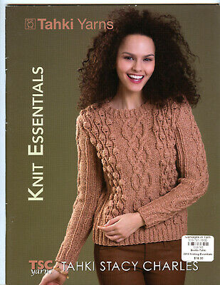 14 Designs for Women Fall Tahki Yarns Tapestry Knitting Pattern Book Winter