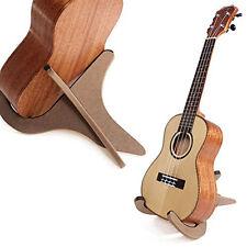 Holz Halter Gitarrenständer faltbarer für Gitarre Ukulele Mandoline Banjo