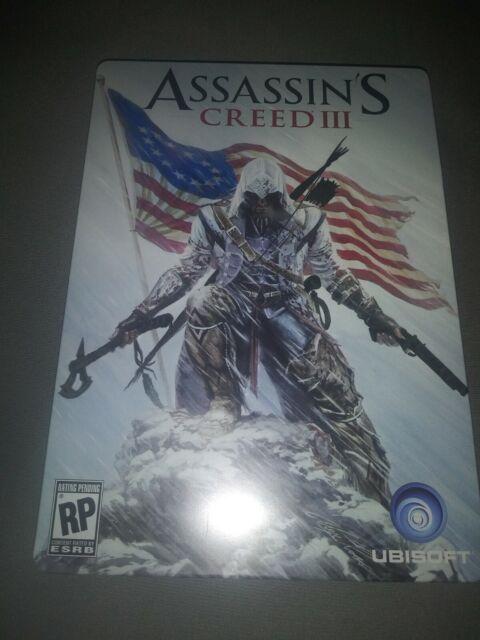 Assassin S Creed Iii 3 Limited Edition Figurine Belt Buckle Flag